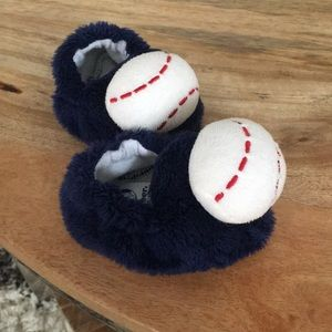Infant slipper baseball shoes